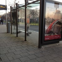 Photo taken at Bushalte Metrostation Slinge by Andi M. on 3/21/2013