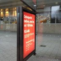 Photo taken at Bushalte Metrostation Slinge by Andi M. on 3/15/2013