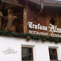 Photo taken at Trofana Alm by Andi M. on 3/24/2013