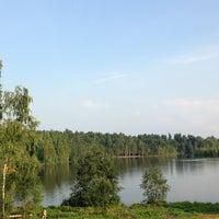 Photo taken at Симоново Озеро by Alexandra . on 8/6/2013