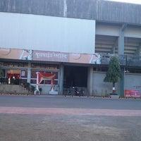 Photo taken at Shahaji Raje Krida Sankul (Andheri Sports Complex) by Ganesha H. on 3/22/2013