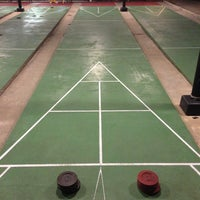Photo taken at St. Petersburg Shuffleboard Club by Amanda R. on 3/2/2013
