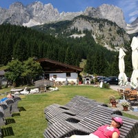 Photo taken at Wochenbrunner Alm by Marisa G. on 7/26/2013