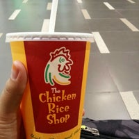 Photo taken at The Chicken Rice Shop by Syahirah S. on 6/9/2016