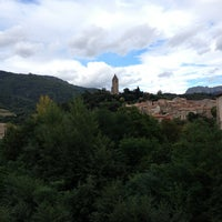 Photo taken at Olargues by Alexandra M. on 9/30/2013