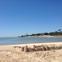 Photo taken at Plage de la Concurrence by Alexandra M. on 8/20/2013