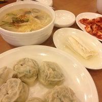 Photo taken at 황생가칼국수 by Angela L. on 11/17/2012