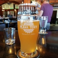 Photo taken at Plank Town Brewing Company by Myranda L. on 7/8/2017