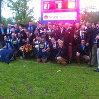 Photo taken at Rugbyclub 't Gooi by John J. on 5/11/2013
