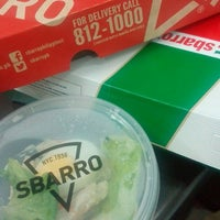 Photo taken at Sbarro by Marie J. on 6/8/2016