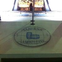 Photo taken at Taberna La Montillana by Enrique C. on 1/12/2013