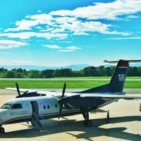 Photo taken at Charlottesville-Albemarle Airport (CHO) by Karen S. on 5/1/2013