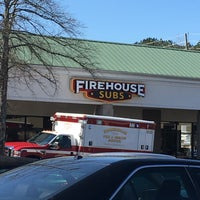 Photo taken at Firehouse Subs by Sandra G. on 2/27/2016