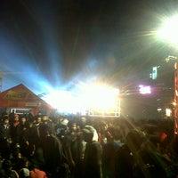 Photo taken at Lapangan Gasibu by Shinta R. on 10/28/2012