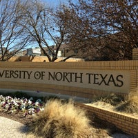 Photo taken at University of North Texas by Shawn M. on 2/27/2013