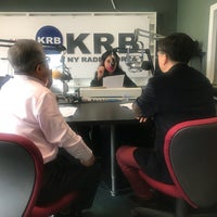 Photo taken at Korea Radio Broadcasting (AM 1660 KRB) by Claire J S. on 5/17/2018