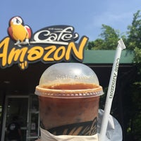 Photo taken at Café Amazon by Pete P. on 7/3/2016