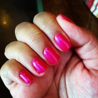 Photo taken at Pink Nail by Gracie L. on 6/8/2013