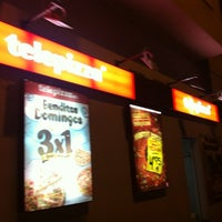 Photo taken at Telepizza by Laura on 12/16/2012