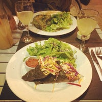 Photo taken at Bio Restaurant by Grace A. on 6/12/2015