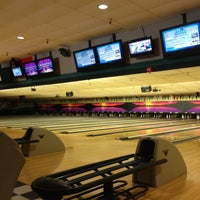 Photo taken at Admiral Robinson Bowling Center by Kyleen S. on 2/27/2013