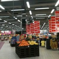 Photo taken at Rimi Hypermarket by Алёна П. on 1/9/2013