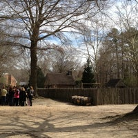Photo taken at Yorktown 1780s Farm by Emilie A. on 3/20/2013