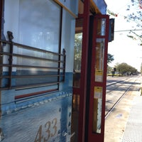 Photo taken at TECO Line Streetcar - Centennial Park Station by Emilie A. on 2/8/2015