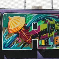 Photo taken at Graffiti Hall Of Fame by Marie-Louise S. on 5/26/2017