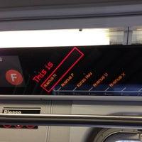 Photo taken at MTA Subway - F Train by Maksym S. on 11/2/2012