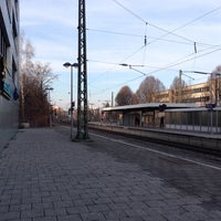 Photo taken at Giesinger Bahnhofsplatz by Stefan K. on 1/12/2014