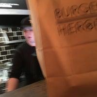 Photo taken at Burger Heroes by Sasha L. on 2/18/2018
