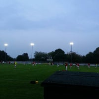 Photo taken at Trafford FC by Mark F. on 9/16/2014