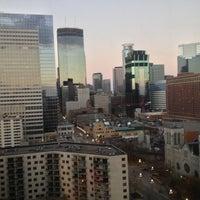 Photo taken at Hyatt Regency Minneapolis by Haley M. on 11/10/2012