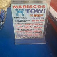 Photo taken at Mariscos Towi by Milton C. on 12/21/2012