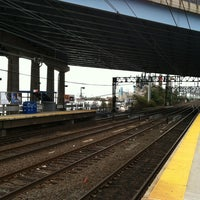 Photo taken at Bridgeport Train Station (BRP) - Metro North & Amtrak by Michael-John K. on 11/2/2012