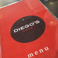 Photo taken at Diego's Café by Graham W. on 4/13/2013