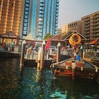 Photo taken at Dubai Creek by Anthony S. on 7/15/2013