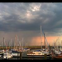 Photo taken at Spiekeroog Hafen by BL D. on 7/25/2014