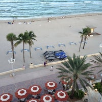 Photo taken at Marriott Hollywood Beach by Steve M. on 10/5/2012