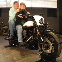 Photo taken at The Shop at the Harley-Davidson Museum by Steve M. on 5/11/2017