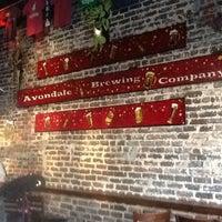 Photo taken at Avondale Brewing Company by Karen B. on 4/12/2013