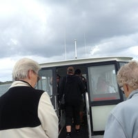 Photo taken at Penguin Island Ferry by Michael V. on 11/2/2012