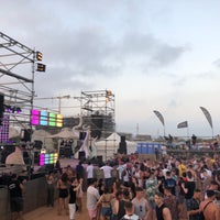Photo taken at Ayia Napa Beach by Salem ⚖ on 7/23/2018