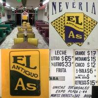 Photo taken at Nevería El Antiguo As by Fernando L. on 9/15/2015
