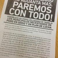 Photo taken at Administración Gubernamental de Ingresos Públicos (AGIP) by Soledad V. on 10/1/2014