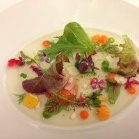 Photo taken at Restaurante Lasarte by Katya R. on 11/10/2012
