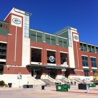 Photo taken at Lambeau Field by Mike R. on 9/29/2012