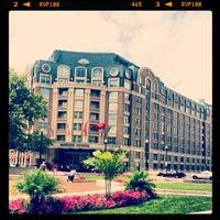 Photo taken at Mandarin Oriental, Washington DC by Jonathan L. on 7/13/2013