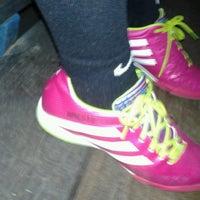 Photo taken at Gool Futsal Mangga Dua by ariesto h. on 2/14/2014